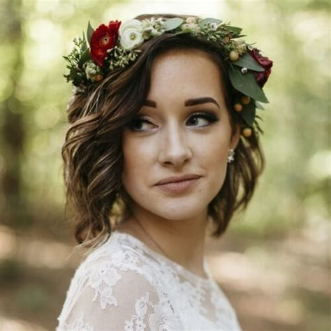 Wedding Hairstyles With Flower Crown by 50 Wedding Hairstyles For Hair Hair Motive Hair Motive