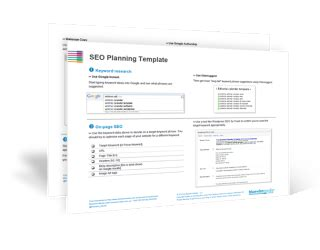 seo planning template seo strategy checklist document 2016