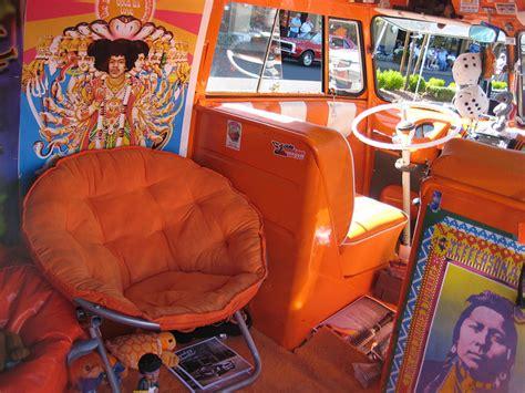 volkswagen van hippie interior groovy interiors hippie van flickr photo sharing