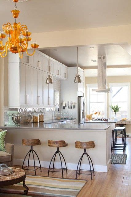 Coloured Kitchen Stools by 25 Best Ideas About L Shaped Kitchen On L