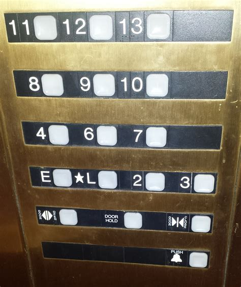 Is There A 13th Floor In Hotels by The Elevator In Hotel Had A 13th Floor But No 5th
