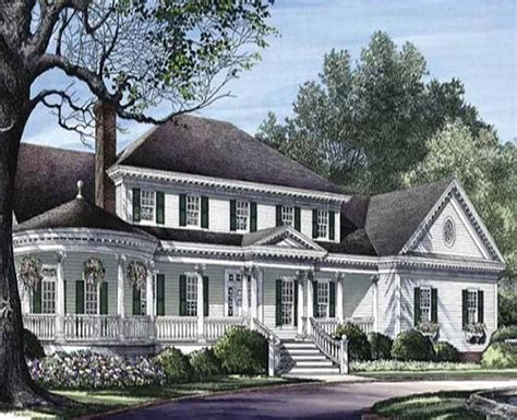 southern custom homes colonial classic country custom home with two master