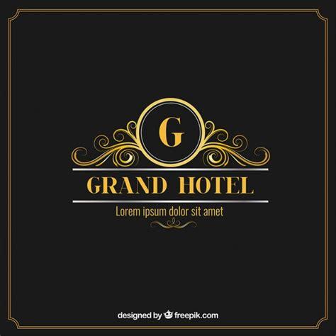 free elegant logo design elegant and luxury hotel logo vector free download