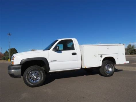 how petrol cars work 2006 chevrolet silverado 3500 free book repair manuals purchase used 2006 chevrolet silverado 3500 standard cab utility work service body 4x4 box 6 0