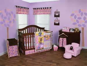 Baby Cing Crib Trend Lab Lola Fox Friends Nursery Collection Baby Care Solutions