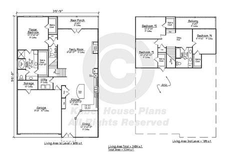 zero lot house plans ralston country home plans zero lot house plans