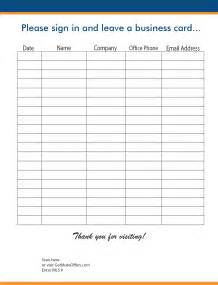 realtor open house sign in sheet template open house realtor sign in sheet template