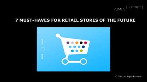 7 Must Haves From The Shop by 7 Must Haves For Retail Stores Of The Future