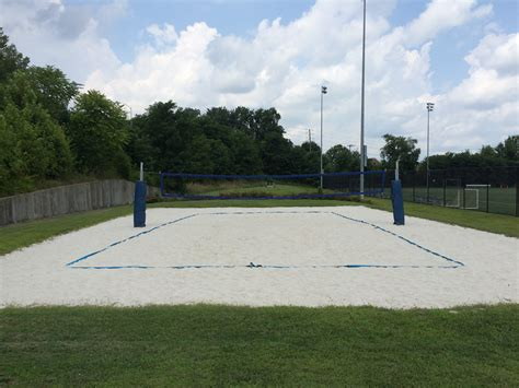 how to build a sand volleyball court in backyard beach volleyball court cus recreation