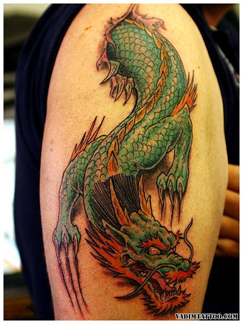 dragon with fire tattoo designs 45 designs and meanings