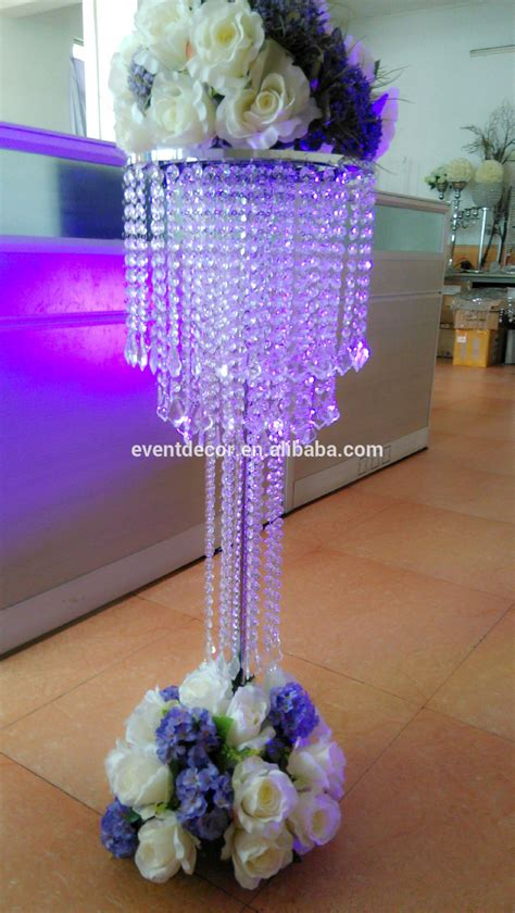 Acrylic Vases Centerpieces by Modern Acrylic Wedding Chandelier Centerpieces For Wedding