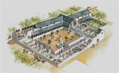 Roman Domus Floor Plan by Intricate Mosaic And Underfloor Heating Among Features For