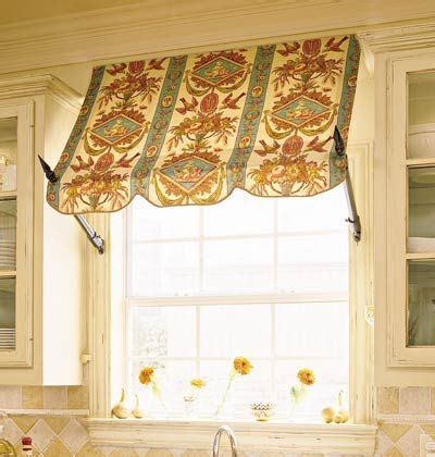indoor window awning awning window treatment window dressings pinterest