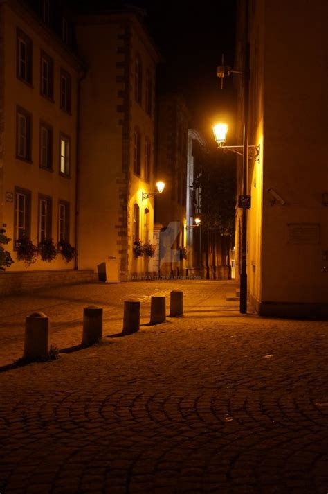 street l at night lonely street at night by amstaal77 on deviantart
