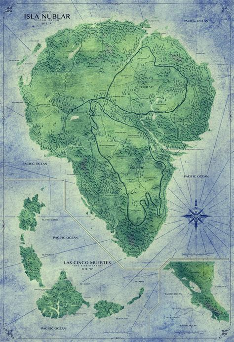 jurassic park map jurassic world park map by sonichedgehog2 on deviantart