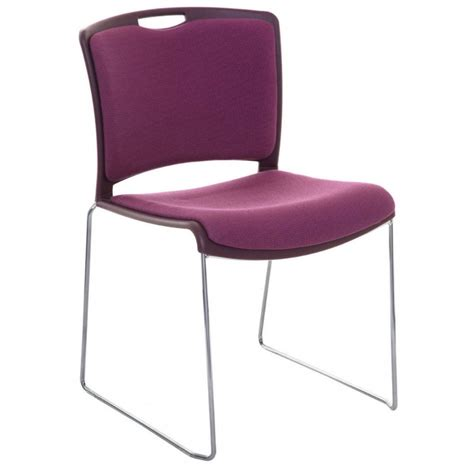 jasper upholstered stacking chair