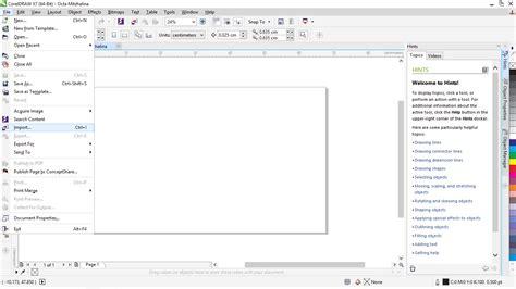 membuat outline font corel cara membuat spanduk dari corel draw octa mitzhalina blog s