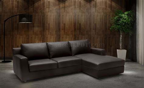 taylor sectional taylor sectional sofa sleeper in premium leather by j m