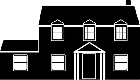silhouette house house design sketch illustration with silhouette style free vector in open office