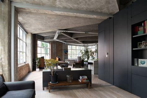 design house decor nj industri 235 le loft met originele plafond in beton binnenkijken
