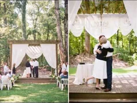 watch backyard wedding online free diy wedding vow renewal decorating ideas youtube
