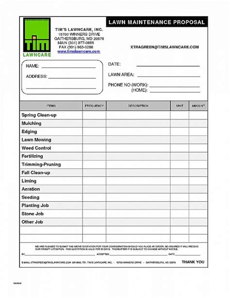 Template For Lawn Care Receipt by Fresh Lawn Service Invoice Template Invoice Templates Lawn
