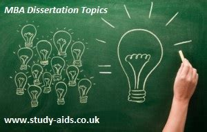 Dissertation Topics For Mba Students by Mba Dissertation Topics For Students The Top