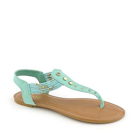 mint green sandals bamboo cope 21 mint green flat sandal