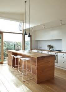 Wooden Bench Kitchen Thousands Of Ideas About Island Bench On Pinterest