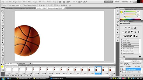 adobe photoshop cs6 tutorial animation how to make an animation gif in photoshop cs5 or 6 hd