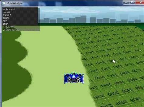 qt opengl tutorial 2d qt 2d game f zero mode 7 real 3d demo no opengl no