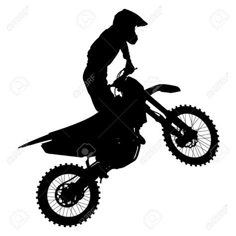 Motorrad Silhouette by 31715601 Schwarze Silhouetten Motocross Fahrer Auf Einem