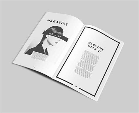 free a4 magazine mockup templates psd titanui