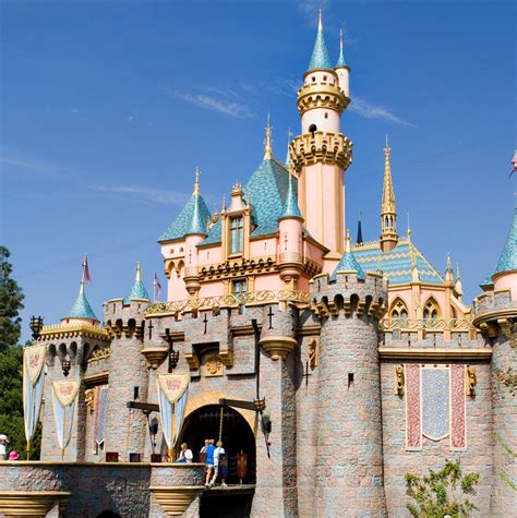 How Sleeping Beauty's Disneyland castle transforms for the