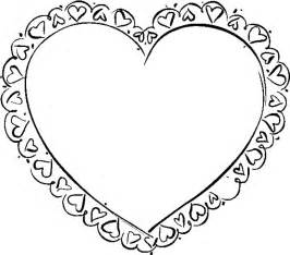 valentines colors valentines coloring pages