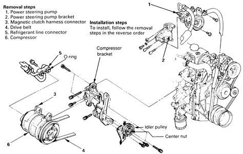 service manual ac repair diagram 1993 isuzu amigo 1993 isuzu pickup and amigo electrical repair guides air conditioner compressor autozone com