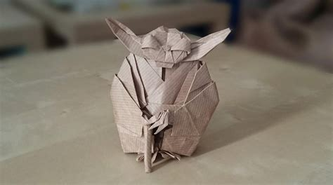 Origami Wars Characters - wars origami episode ii clones droids yoda and more