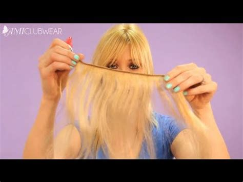 how to make a halo hair extension diy halo flip in hair extensions how easy it is to make
