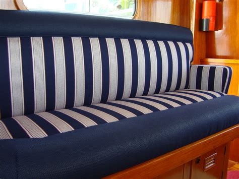 canvas boat cover treatment blue water design florida upholstery interiors marine