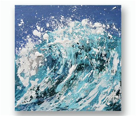 acrylic painting waves best 25 wave paintings ideas on wave