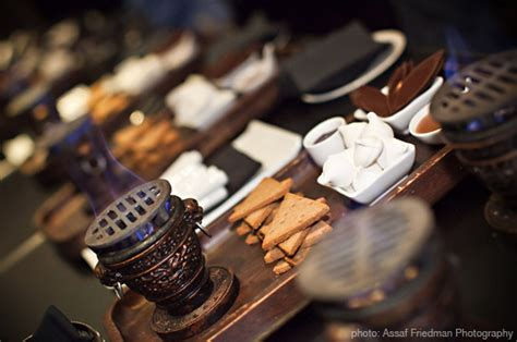 smores at wedding reception inspirations to make your own s mores station at home