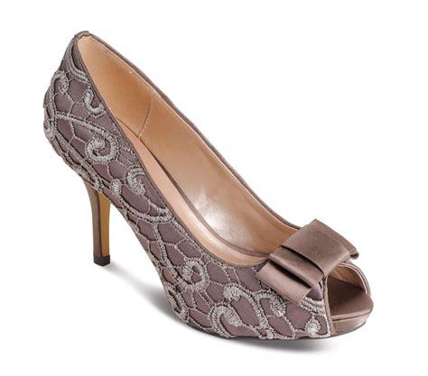 lace pattern heels new ladies peep toe lace pattern small high heel satin bow