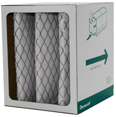 duracraft aca 1030 electrostatic air purifier filter