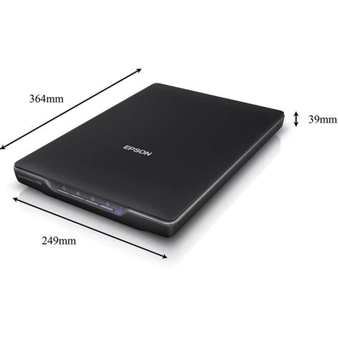 Scaner Epson Perfection V39 Flatbed Color Image Scanner flatbed scanner a4 epson perfection v39 n a usb documents photos from conrad