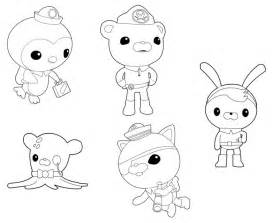 octonauts characters coloring pages www imgarcade image arcade