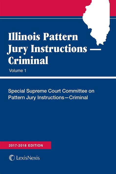 pattern jury instructions by state illinois pattern jury instructions criminal