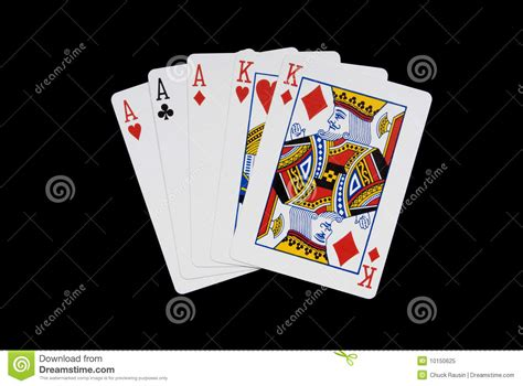 full house cards full house royalty free stock photo image 10150625