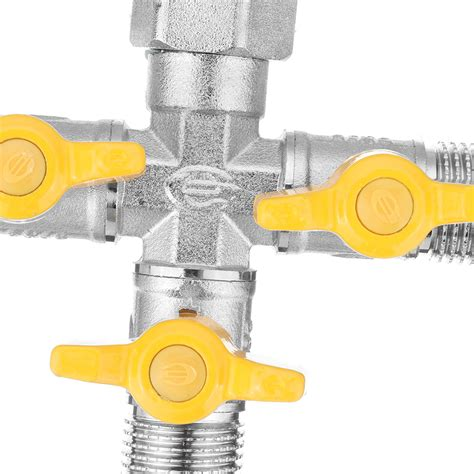 garden hose tap manifold quick connector  outlet