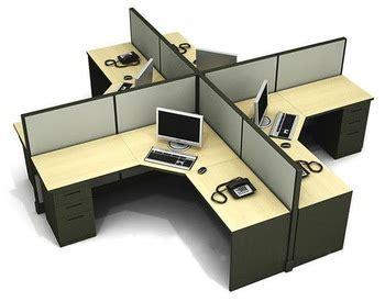 Meja Kerja Kubikel crossing shape modular workstation desk for office cubicle design buy modular workstation desk