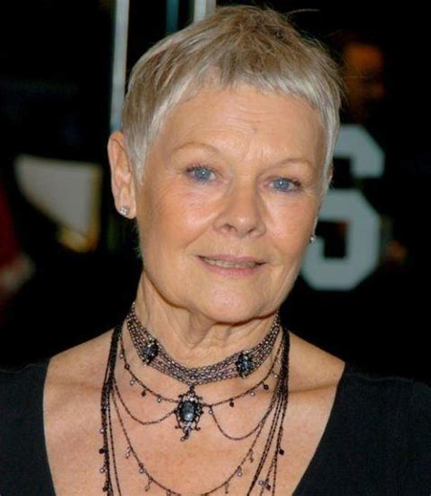 how to style judi dench pixie judi dench pixie haircut choice image haircuts for men